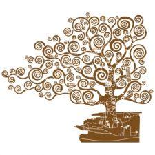 "Трафарет Климт  ""Дерево жизни "" вариация на тему."